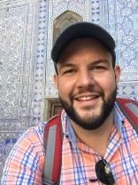 Matthew in Khiva