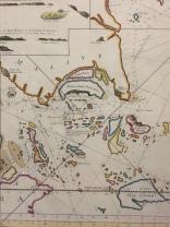 17th century map of Singapore