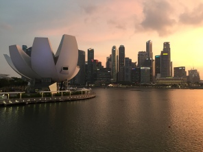 Singapore at dust